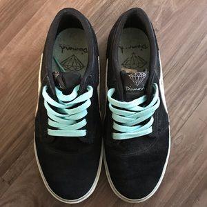Lakai griffin skate shoes - diamond collab
